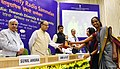 """Arun Jaitley presented the National Community Radio Awards, at the 6th National Community Radio Sammelan, on the theme """"Community Radio in India Towards Diversity and Sustainability"""", in New Delhi (2).jpg"""