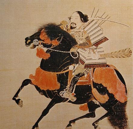 足利幕府の創始者で初代将軍だった足利高次の肖像
