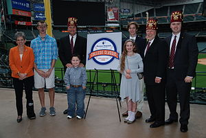 Houston College Classic - In December 2015, the Astros Foundation and Shriners Hospitals for Children announced a multi-year naming rights agreement for the Shriners Hospitals for Children College Classic at Minute Maid Park.
