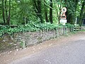 At Bickleigh Mill, a boundary stone - geograph.org.uk - 2451361.jpg