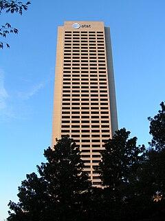 AT&T Midtown Center skyscraper in Midtown Atlanta, Georgia