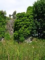 Auchans Castle square tower view.JPG