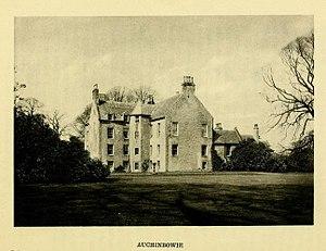 Munro of Auchinbowie - Auchinbowie House, near Stirling, Scotland