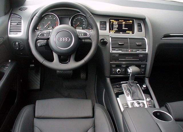 File audi q7 offroad style s line 3 0 tdi quattro for Interieur sport golf