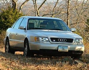 "Audi S6 - Audi C4 S6 (Ur-S6) saloon (U.S.) with ""Avus"" alloy wheels"