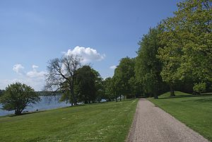 Augustenborg Palace - Palace grounds