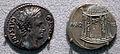 Augusto, denario forse di colonia patricia (cordoba), 18 ac ca.JPG
