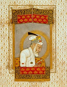 Aurangzeb reading the Quran.jpg