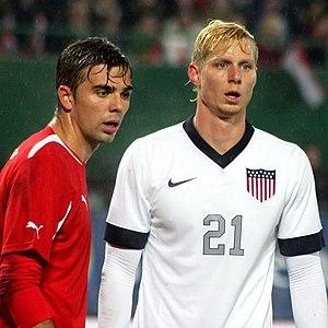 Brek Shea - Brek Shea with U.S. national team