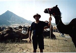 English: Self,Rudolph.A.Furtado at the Pushkar...