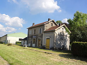 Auvillers-les-Forges - The old railway station