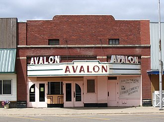 National Register of Historic Places listings in Grand Forks County, North Dakota - Image: Avalon theater