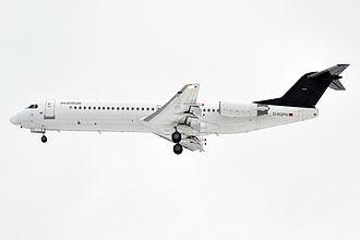 Avanti Air - Avanti Air Fokker 100