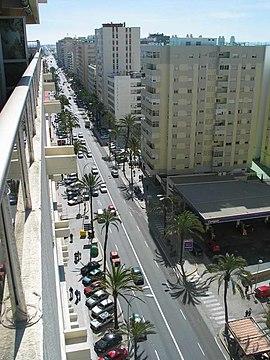 Cádiz, ciudad de alta densidad demográfica