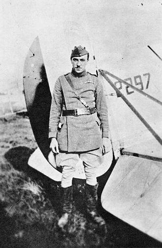 Frank Goodden - Goodden in RFC uniform