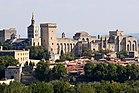 Avignon, Palais des Papes depuis Tour Philippe le Bel by JM Rosier (cropped).jpg