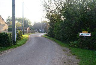 Avosnes Commune in Bourgogne-Franche-Comté, France