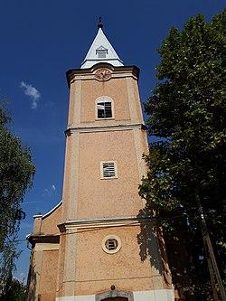 Az ároktői református templom tornya.jpg