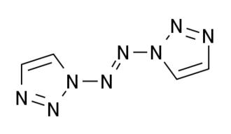 1,1'-Azobis-1,2,3-triazole - Image: Azobis 123triazole