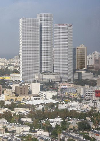 Azrieli Towers, December 2008.JPG