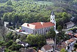 Bánfalvi karmelita kolostor, légi fotó.jpg