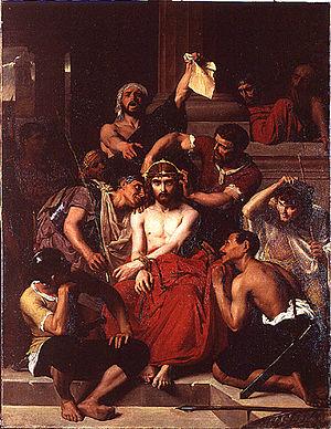 François-Léon Benouville - Image: Bénouville Jésus dans le prétoire