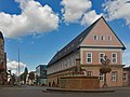Bückeburg, monumentaal pand op Marktplatz foto10 2015-09-09 14.49.jpg