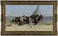 B.J. Blommers - Vissersvrouwen op het strand - NK2111 - Cultural Heritage Agency of the Netherlands Art Collection.jpg