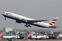 G-ZZZC - B772 - British Airways