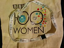 BBC 100 Women and Wikipedia freebies.jpg