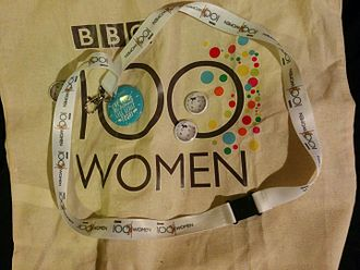 100 Women (BBC) - Image: BBC 100 Women and Wikipedia freebies