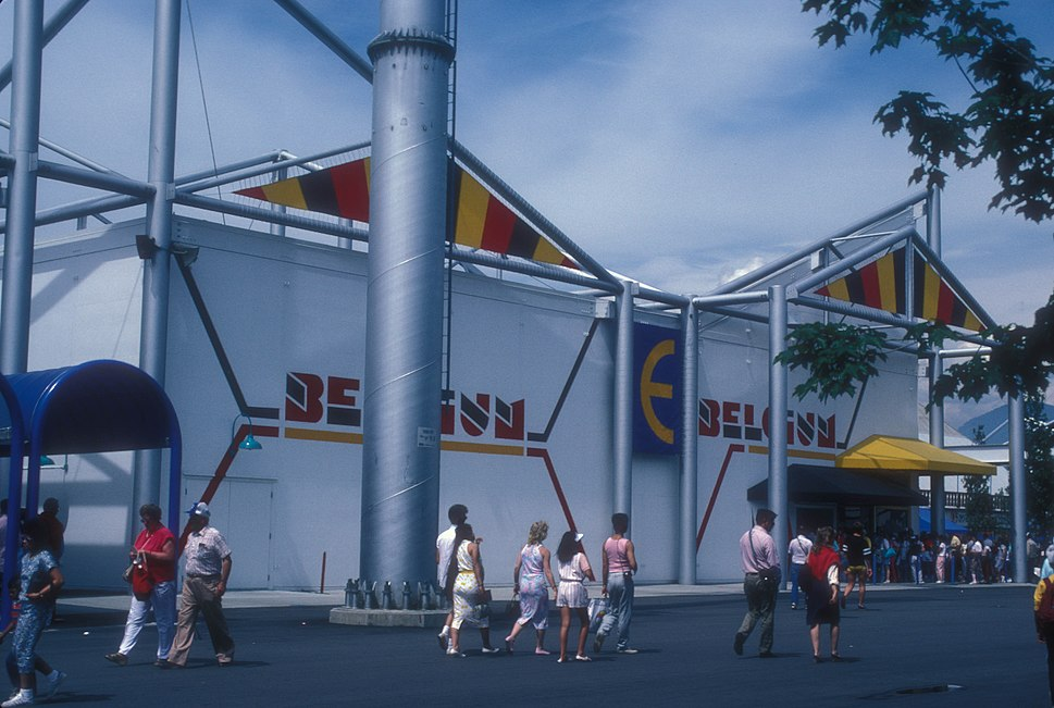 BELGIAN PAVILION AT EXPO 86, VANCOUVER, B.C.
