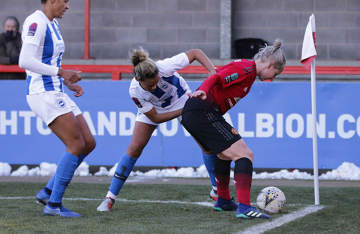 BHA Women 0 Man Utd Women 2 WFAC 4th rd 03 02 2019-1547 (40021579303).jpg