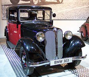 BMW 303 - 1933 BMW 303