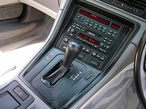 BMW 8 Series (E31) - BMW 840Ci transmission selector
