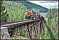 BNSF train at Nimrod trestle Montana - panoramio.jpg