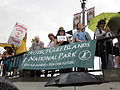 BP Oil Flood Protest NOLA Who Dat Us.JPG