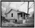 BRIDGE HOUSE NO. 2, LOOKING EAST - Trammel Middle Camp, Trammel, Dickenson County, VA HABS VA,26-TRAM,1-12.tif