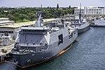 BRP Davao del Sur Docked in Hawaii for RIMPAC 2018.jpg