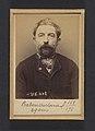 Baben. Hyppolyte, Antoine. 49 ans, né à St Sermain (Aveyron). Serrurier. Anarchiste. 9-3-94. MET DP289797.jpg
