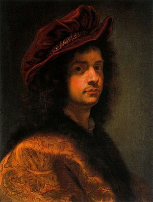 Giovanni Battista Gaulli - Self-portrait, c. 1667
