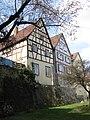 Backnang Stadtmauer mit Fachwerkhäusern 2017 (MTheiler) 4756.JPG