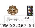 Badge, regimental (AM 790881-3).jpg
