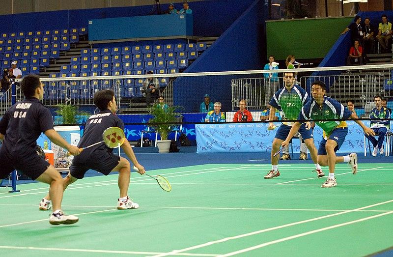 پرونده:Badminton Semifinal Pan 2007.jpg