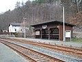 Bahnhof Barthmühle, Wartehalle.jpg