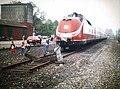 Bahnhof Gescher, Kreis Borken - Trans Europ Express (TEE) 1985.jpg