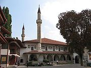 The Crimean Khan's palace in Bakhchisaray was the center of Islam in Ukraine for more than 300 years