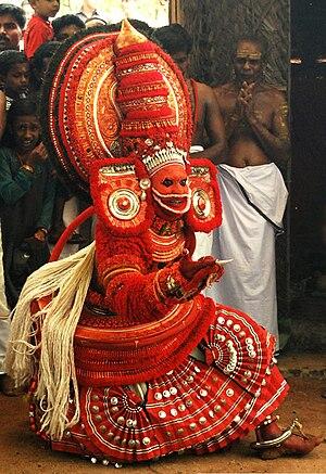 Theyyam -  Bali Theyyam from a Kavu in Payyanur