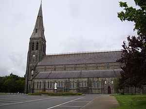 Cathedral of the Annunciation of the Blessed Virgin Mary and St Nathy, Ballaghaderreen - Image: Ballaghaderreen Cathedral