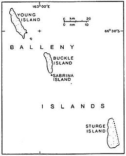 Balleny Islands island group